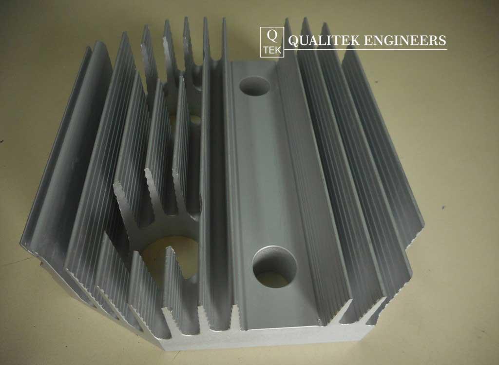 Qualitek Engineers Electrical Industry Heat Sink